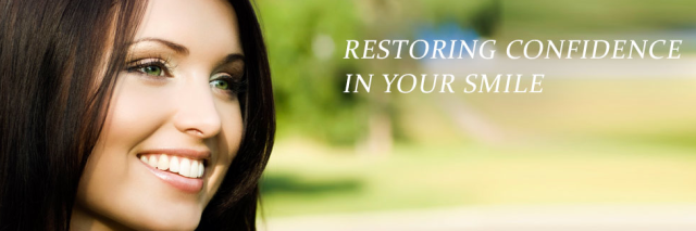 Restoring confidence in your smile
